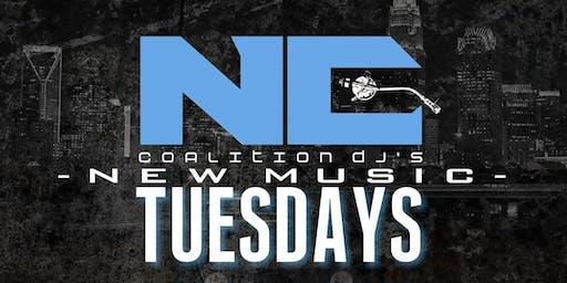 CoalitionDJs New Music Tuesdays
