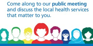 Haringey CCG Public Meeting (Thursday 11 October 2018)...