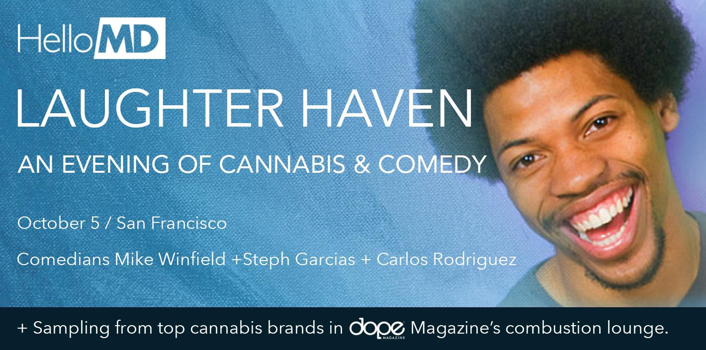 Laughter Haven: An Evening of Cannabis & Comedy