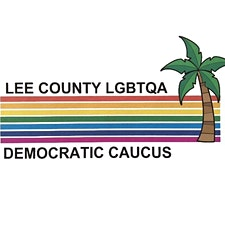 Lee County LGBTA Democratic Caucus logo