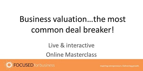 How to create a business valuation that gets your start-up funded: tickets
