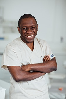 Dr. Ope Sodeinde from London Dental Specialists logo