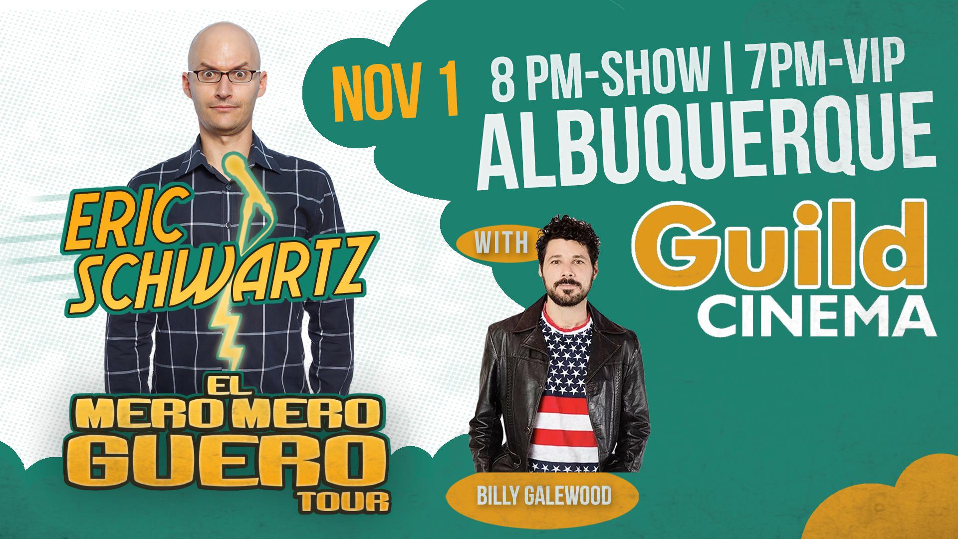 Eric Schwartz Mero Mero Guero Tour - Albuquerque, NM
