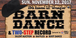 15th Anniversary Wrangler Barn Dance 2017