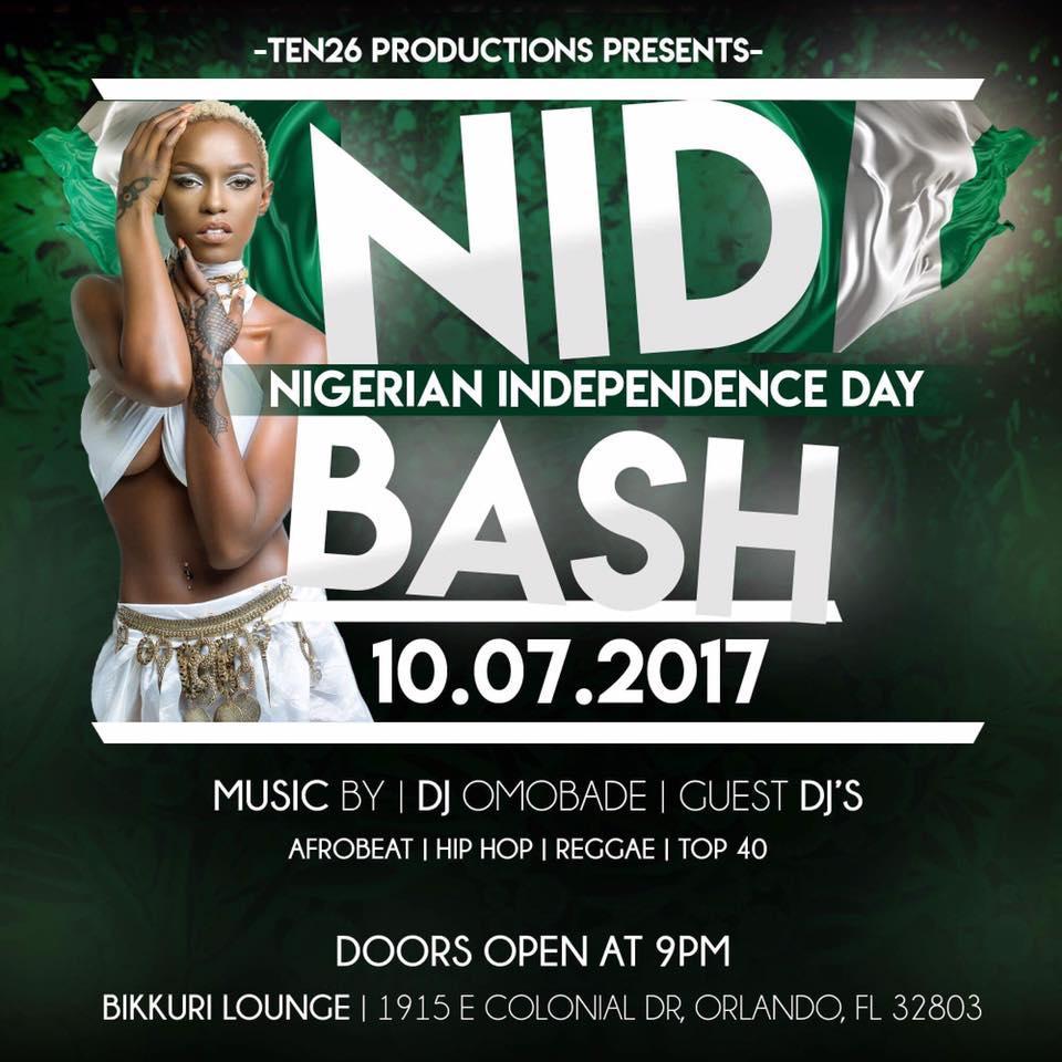 Nigeria Independence Celebration Event. Nigeria Independence Celebration Event