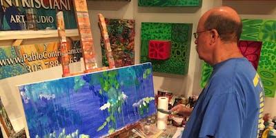 Acrylic Painting Studio Classes