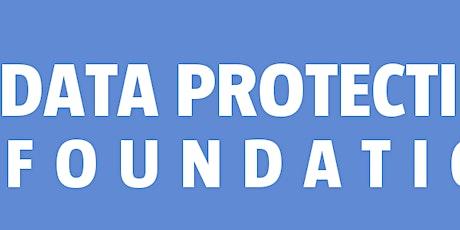 Data Protection Foundation bilhetes