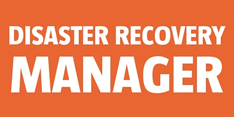 Disaster Recovery Manager bilhetes