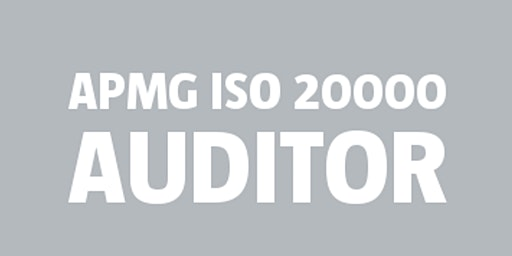 ISO 20000 Auditor | APMG