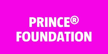 Prince 2 Foundation bilhetes