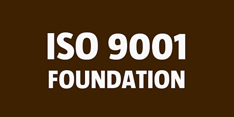 ISO 9001 Foundation tickets