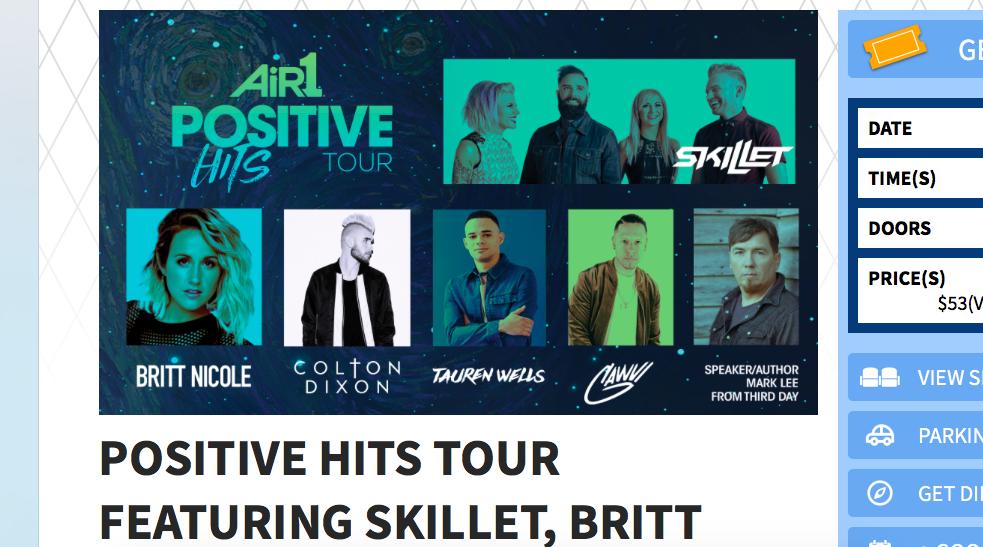 Positive Hits Tour Volunteers - San Antonio, TX