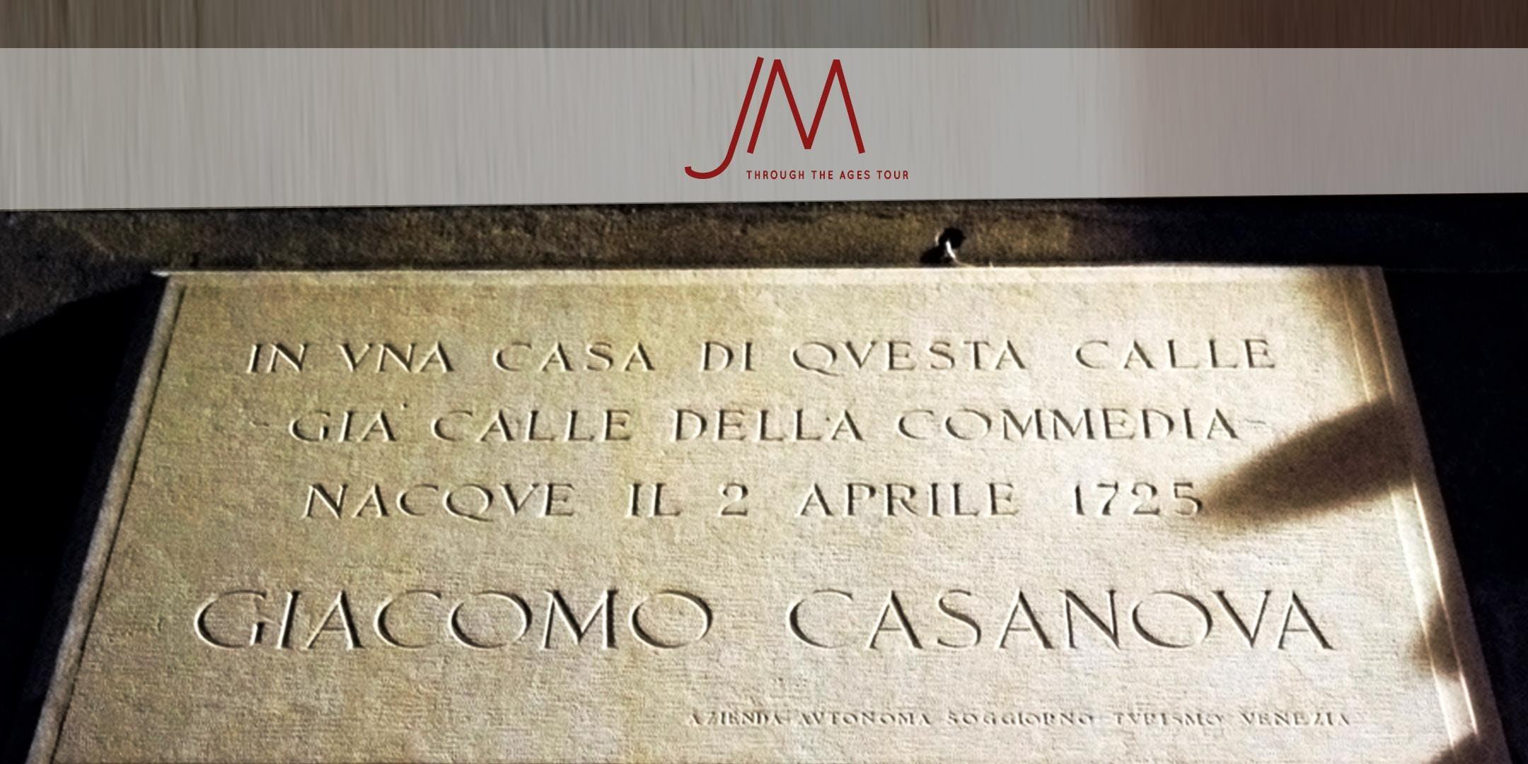 VENICE FREE CASANOVA TOUR