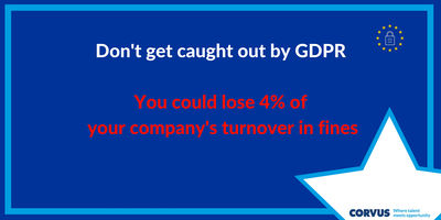 Don't get caught out by GDPR (Breakfast Seminar)