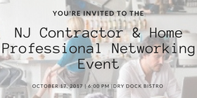NJ Contractor Home Professionals Networking Event Tickets