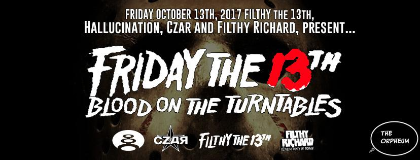 Friday The 13th - Blood On The Turntables