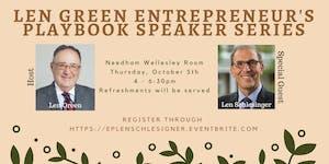 Green Entrepreneur's Playbook Speaker Series feat. Len...