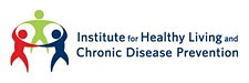 Institute for Healthy Living and Chronic Disease Prevention logo