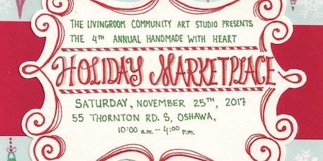 Handmade With Heart Holiday Marketplace Tickets