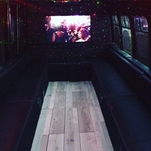 Up to 18 Passengers - Party Bus For Atlanta - Reservation Deposit
