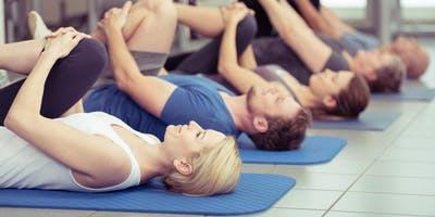 Pilates for back and hip health: Thursdays 8.30pm