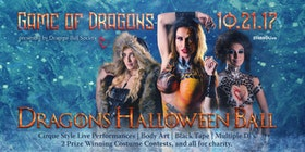 2017 dragons halloween ball tickets - Halloween In Fort Worth