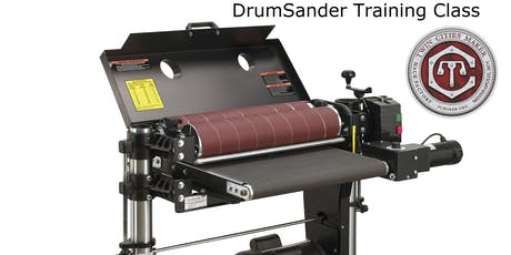 TC Maker Drum Sander Training tickets