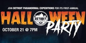 detroit paranormal expeditions halloween party tickets - Detroit Halloween Parties