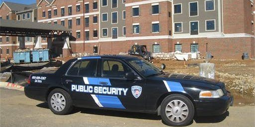 Construction Site Armed Security Protection | Maryland | Public Security LLC