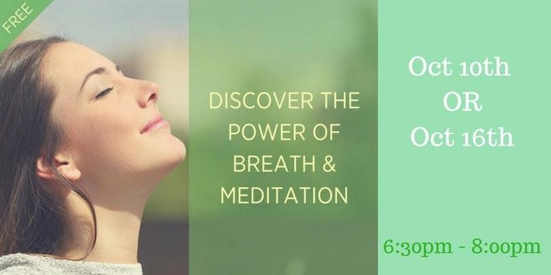Eventbrite - Breathwork & Meditation