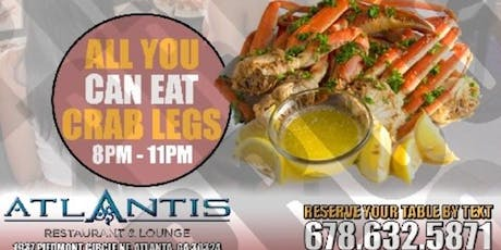 ATLANTIS ALL YOU CAN EAT CRAB LEGS tickets