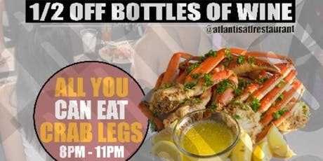 WINE DOWN WEDNESDAYS: ALL YOU CAN EAT CRAB LEGS tickets