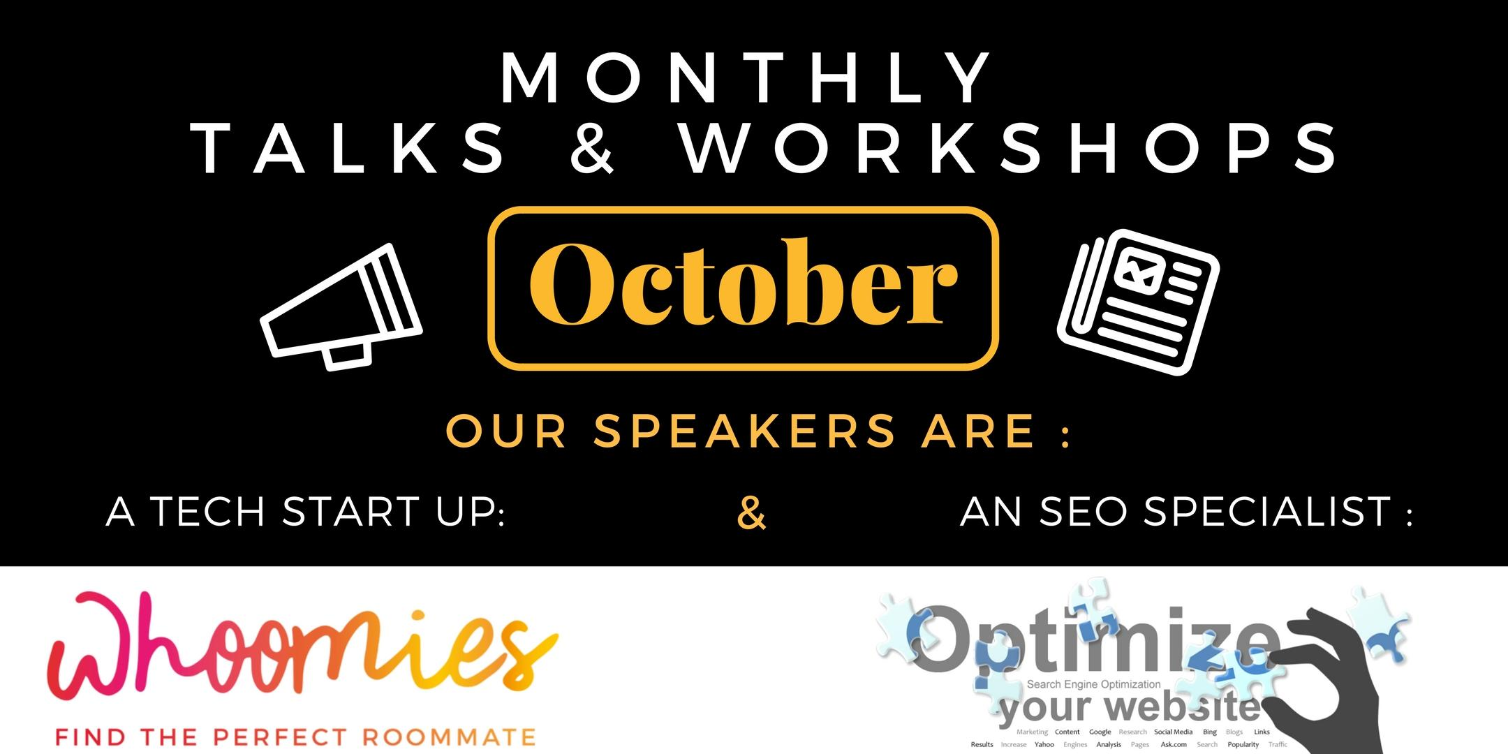October Speaker Event