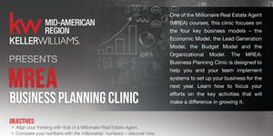 MREA: BUSINESS PLANNING CLINIC with JAMES SHAW