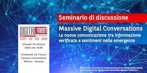 Massive Digital Conversations – La nuova comunicazione...
