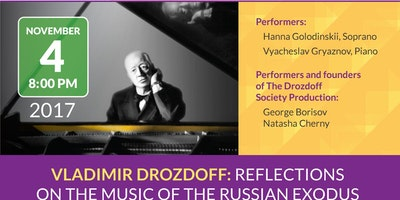 Reflections on the Music of the Russian Exodus:Vladimir Drozdoff