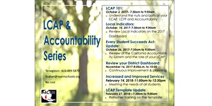 LCAP & Accountability Series - LCAP 101