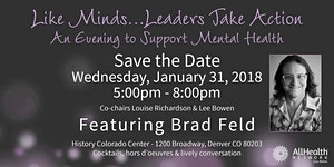 Like Minds…Leaders Take Action: An Evening to Support...