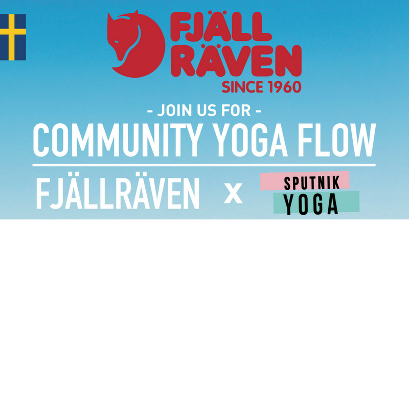 Yoga | Brunch Presented by Fjällräven and Spu