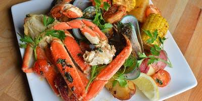 Suede Restaurant Seafood Month: $19.99 Platter