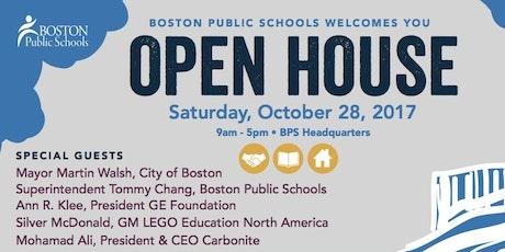Boston Public Schools Fall Open House Tickets