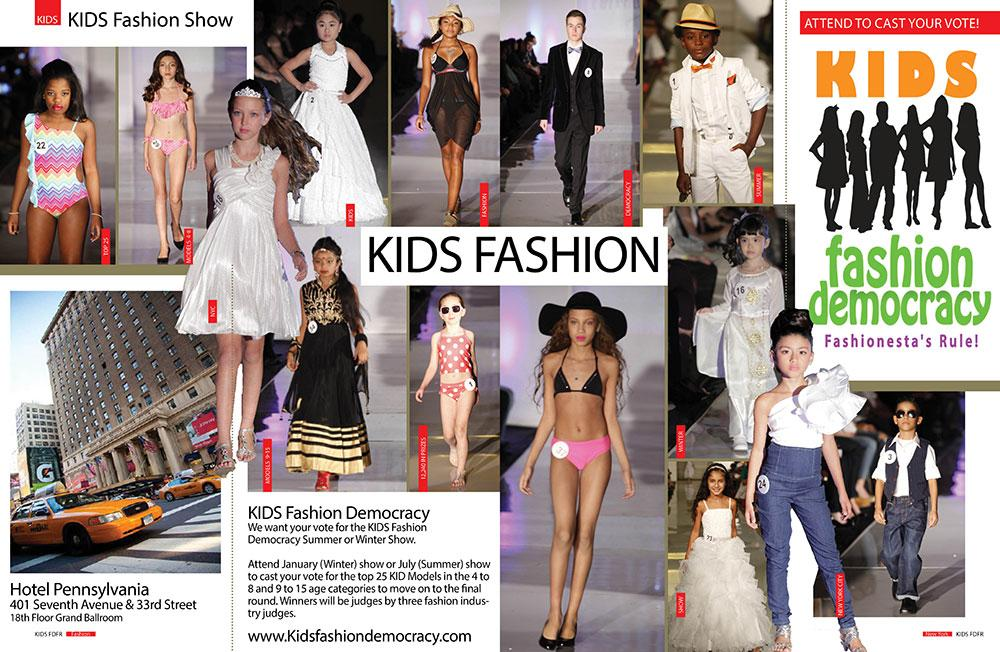 Aspiring Fashion Photographers & Videographers for KIDS FASHION SHOW in New York City