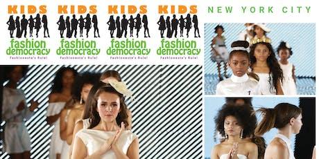 Aspiring Fashion Video/TV Host for NYC KIDS FASHION SHOW Interviews/Coverage tickets