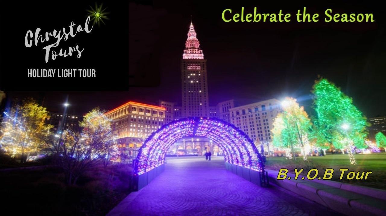 Chrystal Holiday Light Limo Coach Tour (BYOB)