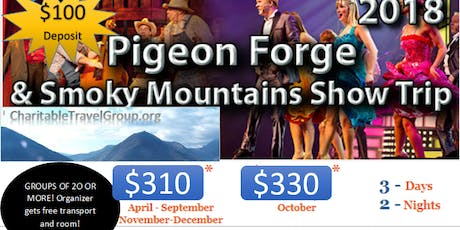 PIGEON FORGE & SMOKEY MOUNTAINS ALL INCLUSIVE LUXURY BUS TOUR tickets