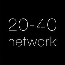 20-40 Network logo