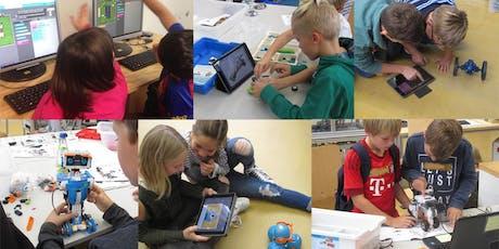 FabLabKids: Entdecke die Welt der Roboter und Programmierer (Alter 5 bis 8 Jahre) Tickets