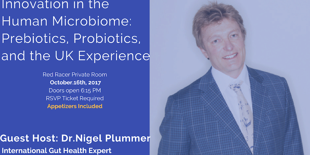 Innovation in the Human Microbiome: Prebiotics, Probiotics, and the UK Experience