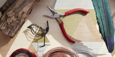 Make Wire Sculptures with Zack McLaughlin tickets