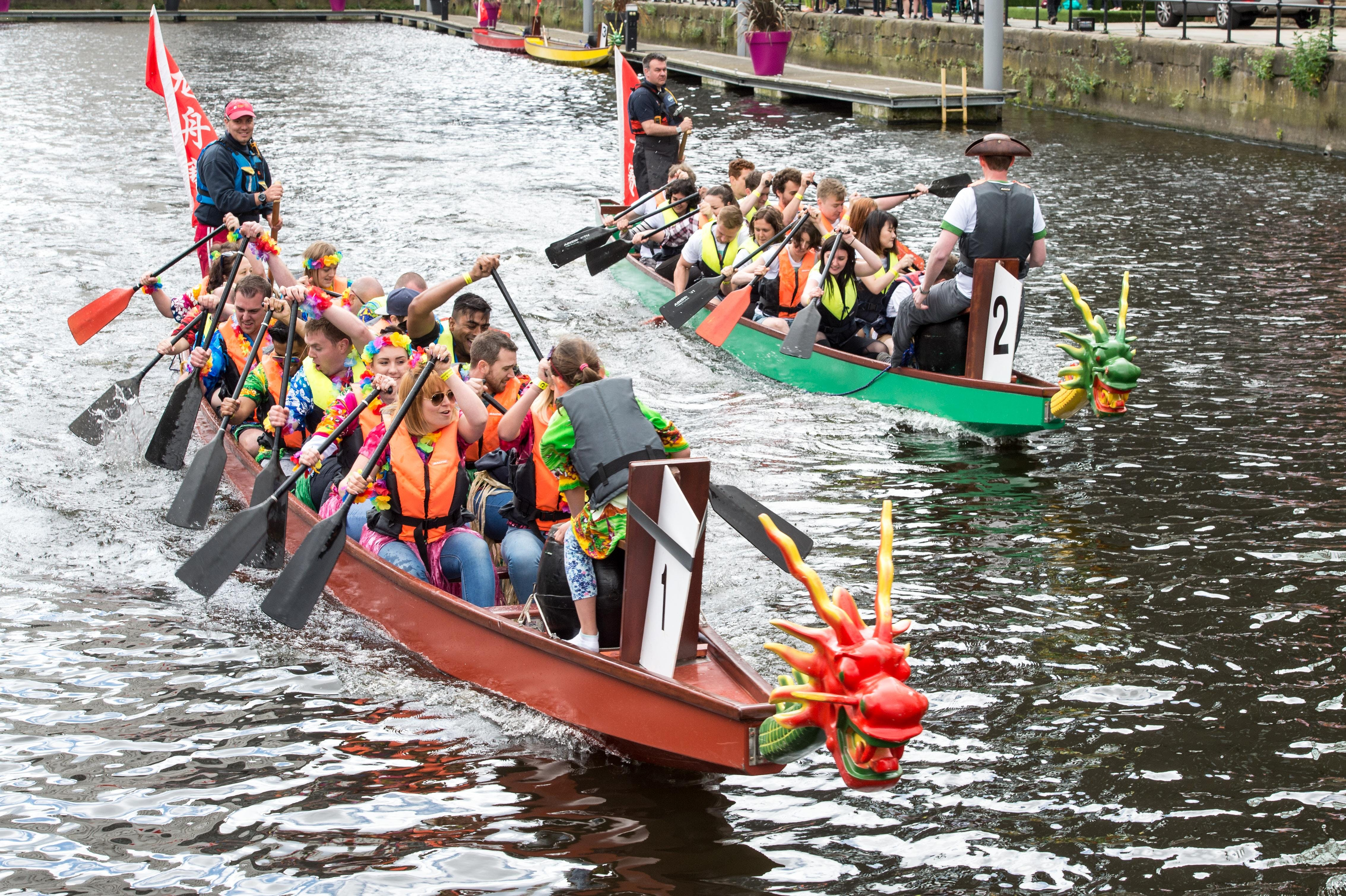 Radio Aire and Leeds Dock Dragon Boat Race 20